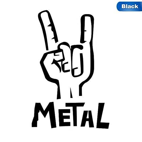 tonywu Pegatina De Heavy Metal Vinilo Calcomanía Eléctrica Bajo Rock Personalidad Coche...