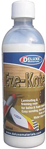 Deluxe Materials DLMBD37 Eze-Kote Finishing Resin, 500 ml by DELUXE MATERIALS