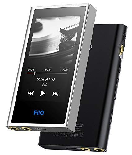 FiiO M9 ブラック Bluetooth/Wi-Fi/バランス出力対応 ハイレゾ対応 デジタルオーディオプレーヤー ポータブルオーディオプレーヤー DAP