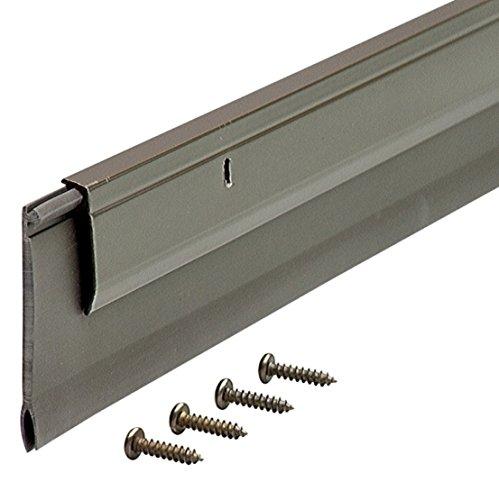 M-D Building Products 5652 M-D 0 Deluxe Door Sweep, 1/4 in W X 36 in L X 2 in H, quot, Bronze
