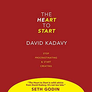 The Heart To Start     Stop Procrastinating & Start Creating              By:                                                                                                                                 David Kadavy                               Narrated by:                                                                                                                                 David Kadavy                      Length: 2 hrs and 25 mins     63 ratings     Overall 4.5
