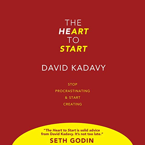 The Heart To Start     Stop Procrastinating & Start Creating              By:                                                                                                                                 David Kadavy                               Narrated by:                                                                                                                                 David Kadavy                      Length: 2 hrs and 25 mins     61 ratings     Overall 4.5