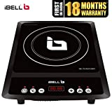iBELL Induction Cooktop 2000 W with Auto Shut Off and Overheat Protection