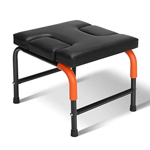 Check Out This Yoga Headstand Bench, Multifunctional Yoga Inversion Chair Stand Headstander Prop Ups...