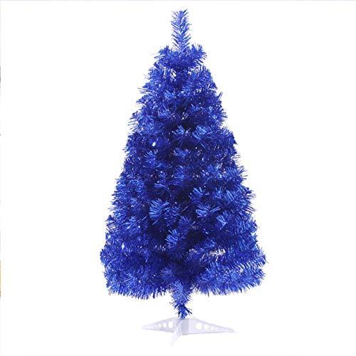 GE&YOBBY Árbol De Navidad Azul Casa Oficina Mesa Presenta Artificial Pino Decoración Navidad Simulación Artificial Casa De La Empresa Al Aire Libre Partido Niños Niños 60cm 90cm
