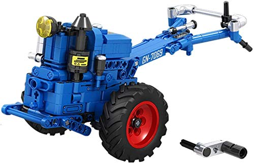 Julykai Weisheit entwickeln Traktor Modellbau Spielzeug 1:10 Farm Hand Traktor Gebäude Spielzeug Farm Play...