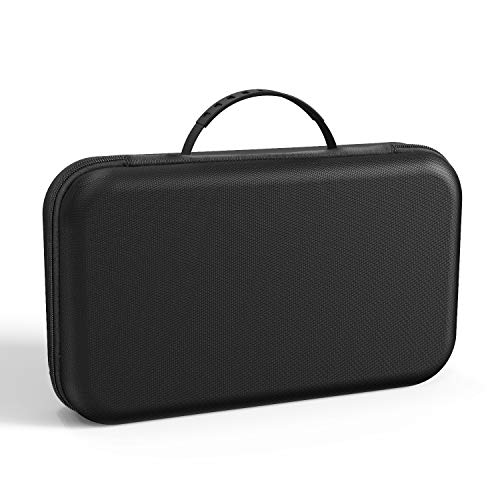 ieGeek Portable DVD Player Carrying Case, Durable & Rigid Protective EVA Hard Shell Carry Bag, Carrying Travel Bag with Handle for 7.5-10.5 inch Portable DVD Player, Portable TFT/LCD Monitor