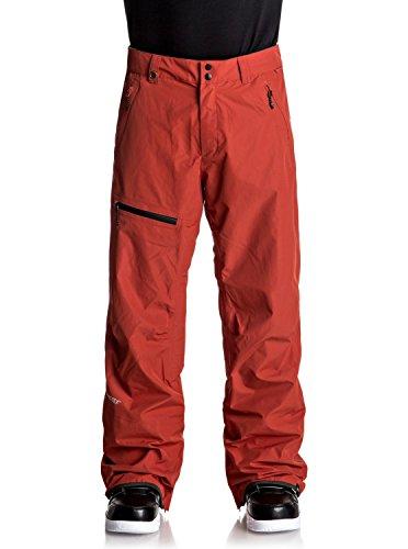 Quiksilver Forever 2L Herren Snowboardhose Goretex - Rot - Groß