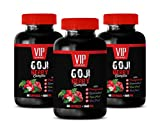 Weight Loss Fat Burner Supplements - Goji Berry Complex - with Pomegranate, RESVERATROL, NONI, ACAI - Goji Berry Capsules - 3 Bottles 180 Capsules