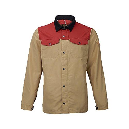 Burton Mens Stead Jacket, Tandor/Kelp, Large