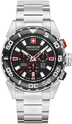 SWISS MILITARY HANOWA Scuba Diver Chrono 06-5324.04.007