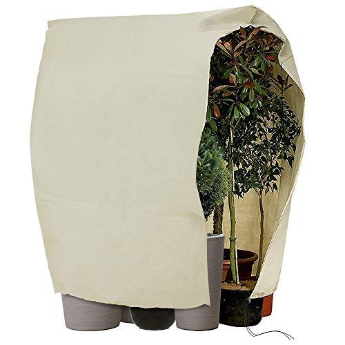 Hydrogarden Winterschutz für Pflanzen,140 g/m² Stark,XXXL 360 x 250cm, Wintervlies Schutzhaube Pflanzen, Olive, Palmen Frostschutz, Kübelpflanzensack sehr groß