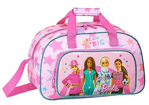 Safta 712010273 Bolsa deporte Bolso de viaje Barbie