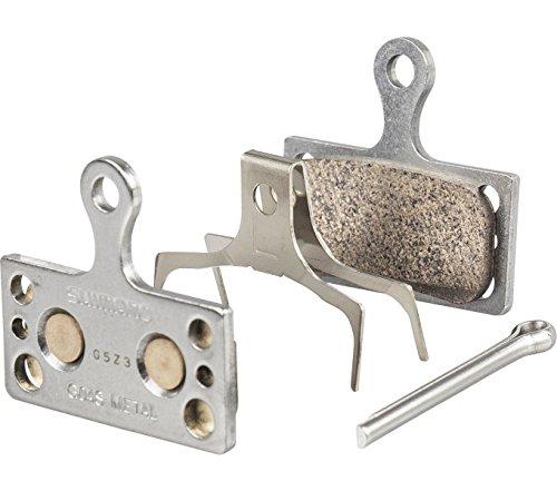 Shimano G04S Metall Scheibenbremsbelag, grau, One Size