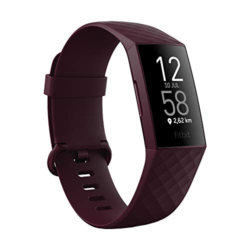 Fitbit Charge 4 Activity Tracker, Unisex-Adult, Morado (Ciruela), One