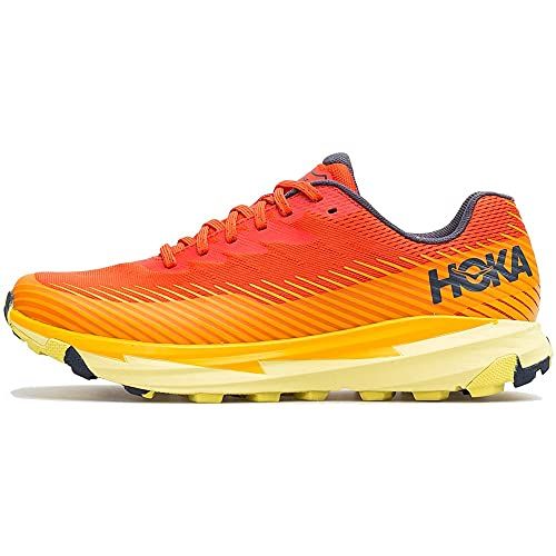 HOKA Torrent 2, Scarpe Trail-Running Uomo, Rosso (Fiesta/Saffron FSFF), 43 1/3 EU