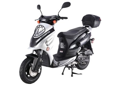 TaoTao CY50-A Fully Automatic 49cc Gas Scooter Moped w/...