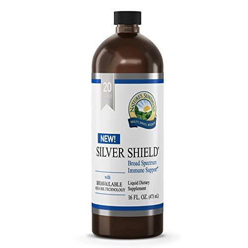Nature's Sunshine Silver Shield Liquid 16 Fl Oz