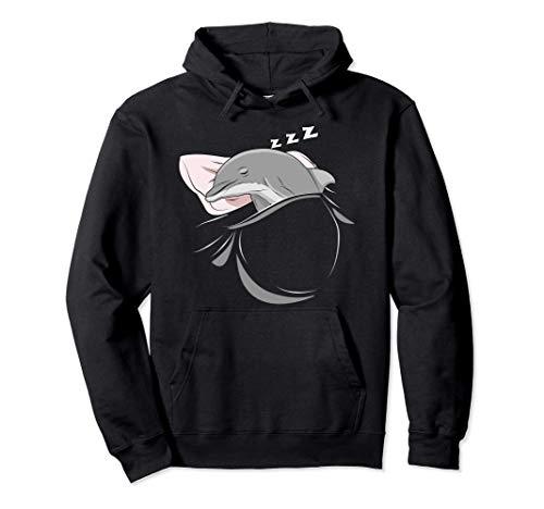 Delfín Dormir Siesta Pijama Regalo Delfín Sudadera con Capucha