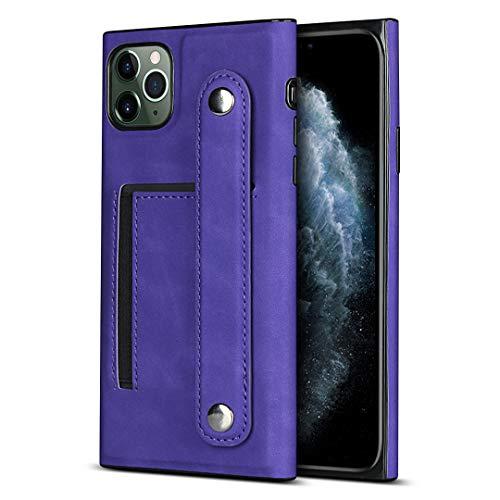 Schutzhülle für iPhone 11 Pro (14,7 cm / 5,8 Zoll), PU-Leder, Violett