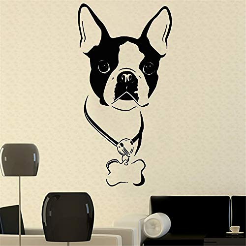 yiyiyaya Wandaufkleber Für Kinderzimmer Neymar Art Decor Hund Abziehbilder PVC Abnehmbare Selbstklebende Design Vinyl Wandaufkleber Home 85 x 44 cm