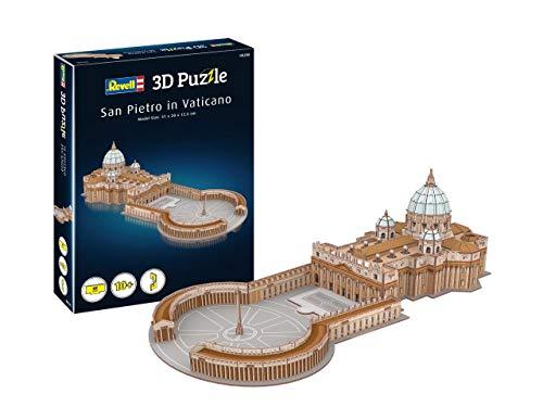 Revell 208 3D Puzzle - Basilica di San Pietro, Multicolore