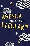 Agenda Escolar 2021-2022: Agendas Escolares 2021-2022 , Agenda niño niña infantil , Cuaderno colegio primaria por colegios...