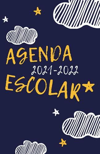 Agenda Escolar 2021-2022: Agendas Escolares 2021-2022 , Agenda niño niña infantil , Cuaderno colegio primaria por colegios , 1 día = 1 página