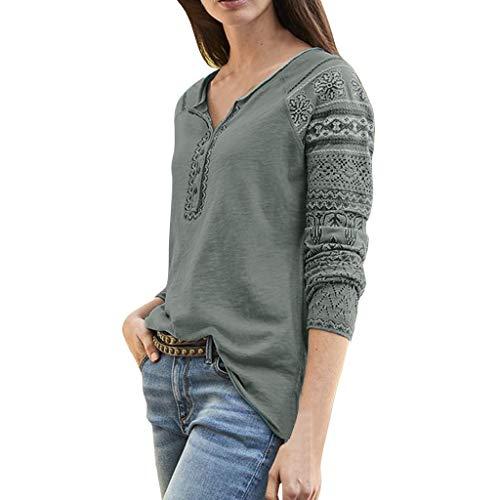 TEFIIR Retro Klassischen Europäischen Druck Pullover Damen Herbst/Winter Warme Mantel Hoodies Casual Tops Lose Strickjacke Sweater Outwear Mode Bluse