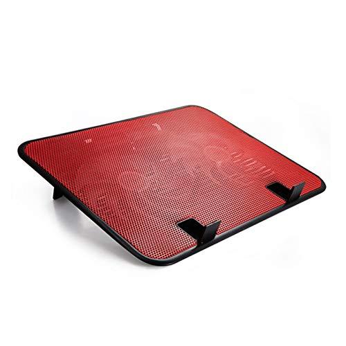 Fan Cuaderno De 14 Pulgadas Cinema 5V Ventilador Doble USB Portátil Externo Pista De Enfriamiento Soporte De Reparación Soporte De Alta Velocidad Mute Metal Panel Fan Ordenadores ( Color : NO.5 )