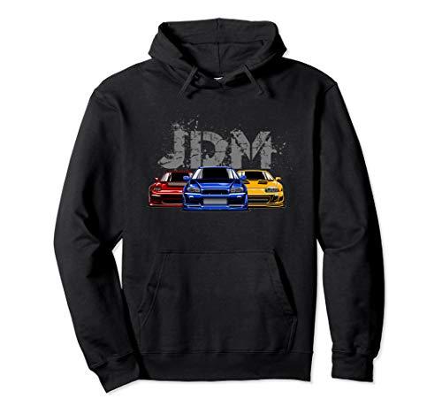 JDM Style Motorsport Drift Turbo Street Racing Pullover Hoodie