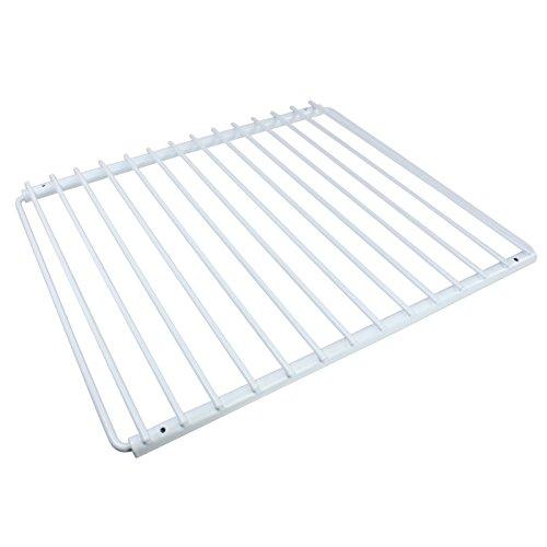 SPARES2GO verstellbar, Kunststoff, beschichtet, Kühlschrank Gefrierschrank Regal mit Schrauben, ausziehbaren Armen
