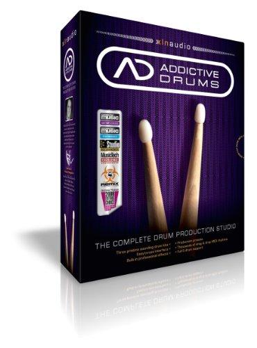 XLN Audio Addictive Drums ソフトウェアドラム音源 スタンドアローン / VST / AU / RTAS / AAX対応