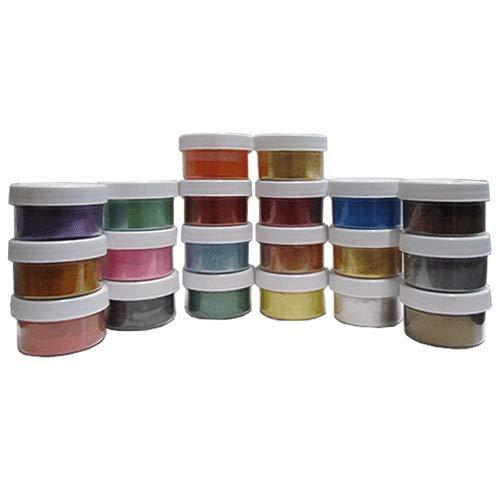 Metallic Mica Pigment Testers (All 20 Colors)