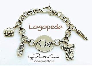 Pulsera LOGOPEDA (Temática Profesiones).
