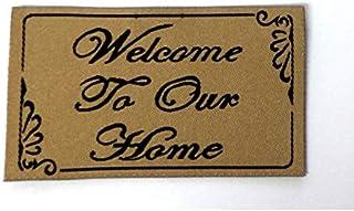 MELODY Jane Casa De Muñecas Welcome To Our Home Felpudo Recibidor Step Accesorio