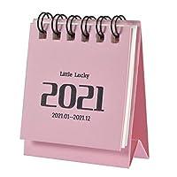 2021ミニカレンダー、小さな卓上カレンダー便利な2021ミニカレンダー