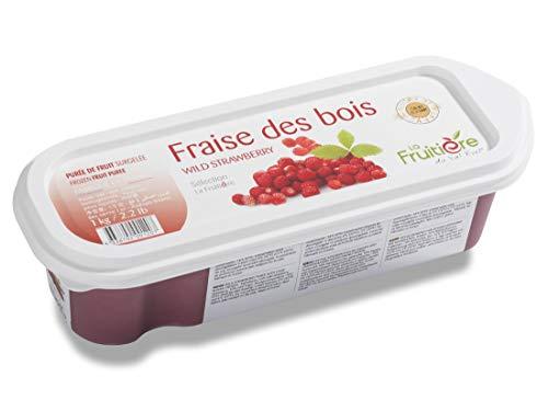 ラ・フルティエール (冷凍) フレーズデボワピューレ 1kg