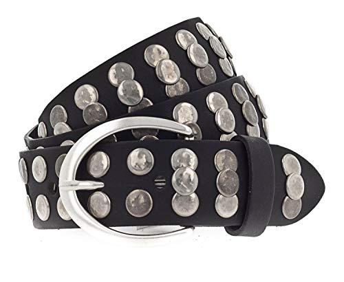 Vanzetti Hollywood Boulevard 35mm Full Leather Belt W85 Black