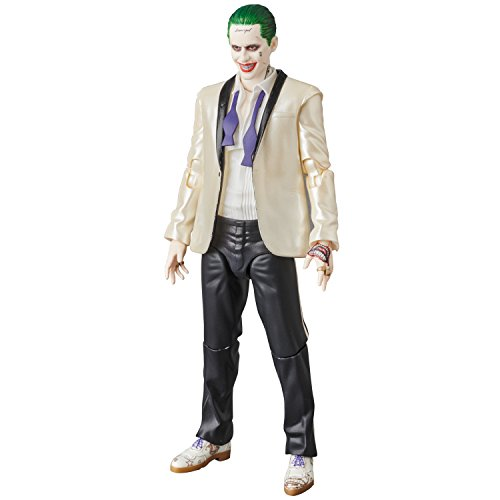 MAFEX マフェックス THE JOKER(SUITS Ver.)『SUICIDE SQUAD』ノンスケール ABS&ATBC-PVC塗装済み アクションフィギュア