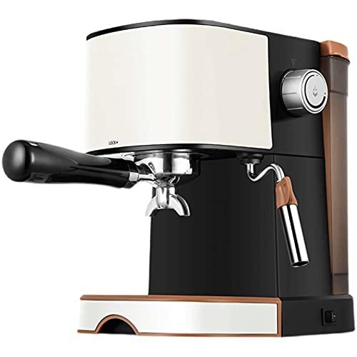 HMBB Máquinas automáticas de espresso 20 Bar Calefacción rápida Cappuccino Cafetera con leche Froth Fother Wand for el espresso,Latte,Machiato,Tanque de agua 1L,850W
