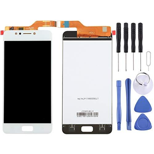 Mingxian Pantalla LCD y digitalizador Asamblea Completa for ASUS ZenFone 4 MAX / ZC520KL (Negro) (Color : White)