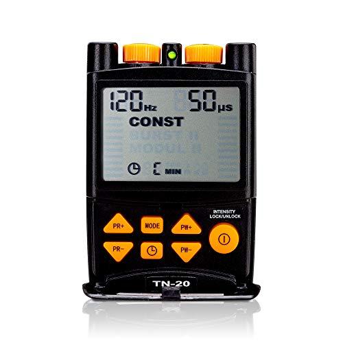 Stimio TN-20 Electroestimulador TENS - 5 programas- Para la terapia contra el dolor - Fácil manejo