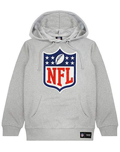 NFL Logo Hoodie American Football Spiel Unisex Männer Frauen Grau Pullover