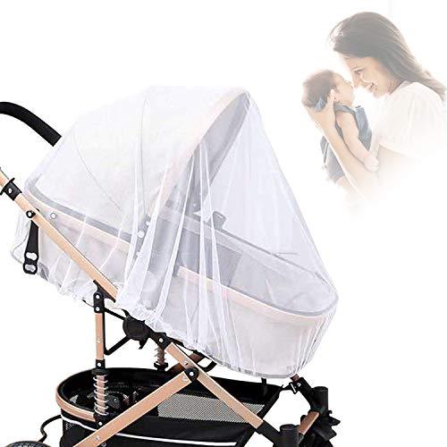 Kinderwagennetz, Gxhong Universal Kinderwagen Insektennetze - Fly Bug Moskitonetz für Kinderwagen, Buggy und Babytragetasche
