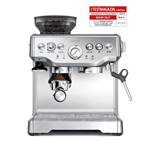 Sage Appliances SES875 Espresso-Maschine mit integrierter Mühle