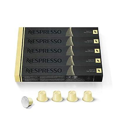 Nespresso OriginalLine: Vanilio / Vanilla Eclair, 50 Count