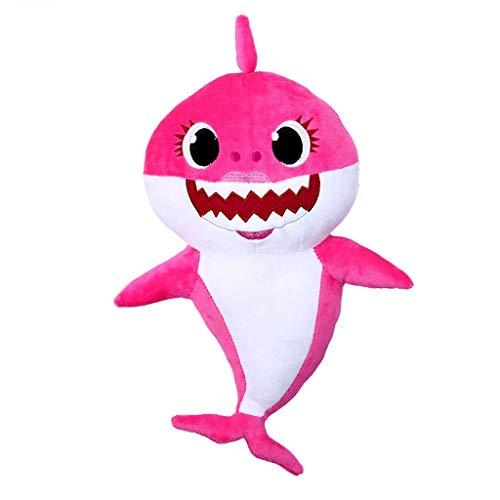 Esunndda Baby Shark Plush Toys, Soft Baby Plush Toys Singing English Song for Kids Gift Children Boys and Girl