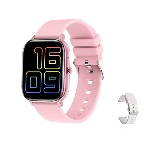 ZGLXZ Reloj Inteligente GW22 para Hombres Y Mujeres con Pantalla De Llamada De Llamada Bluetooth Y Control Remoto De La Presión Arterial Selfie para Android iOS,I