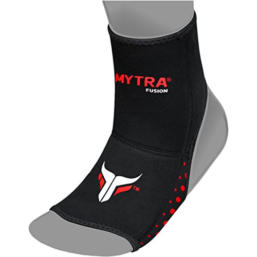 Mytra Fusion Muay Thai Ankle Support Kick Boxing Ankle Sprain Injury Pain Releife Elasticated Braces